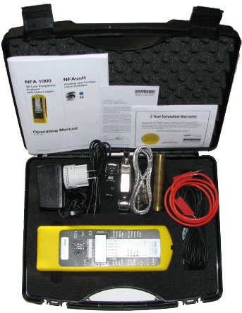 NFA1000 Professional 3D Electric & Magnetic Field Meter by Gigahertz  Solutions