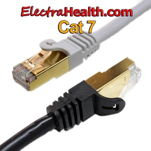 Cat7 Premium Low-EMF Ethernet Cable - 14ft