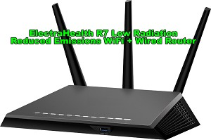 ElectraHealth Low radiation - reduced RF emission WiFi router R7 based on Netgear hardware