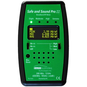Safe and Sound Pro 2 RF Meter