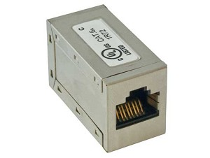 Cat6A Premium Shielded Ethernet Coupler