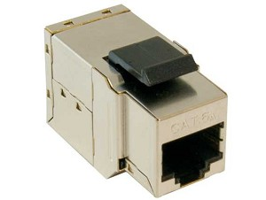 Cat6A Shielded Keystone Style Coupler RJ45 Jack