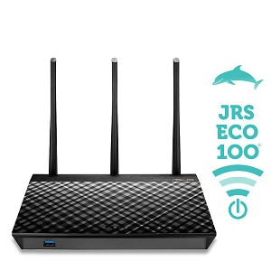JRS Eco 100 D1 on Asus Low-emission and automatic sleep-mode AC1750 Router