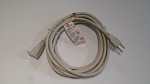 ElectraHealth Shielded Extension Cord - General Purpose Light Almond 16 gauge